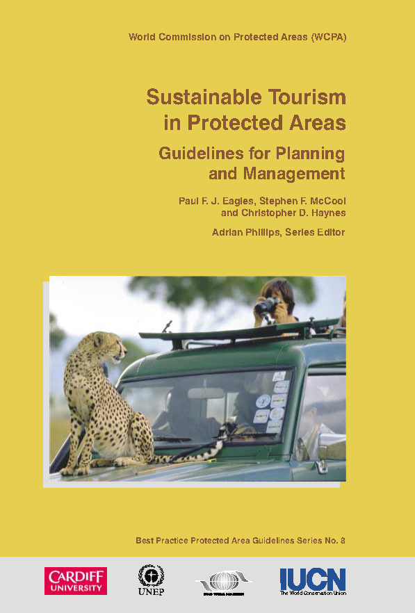 Capa da Sustainable Tourism in Protected Areas