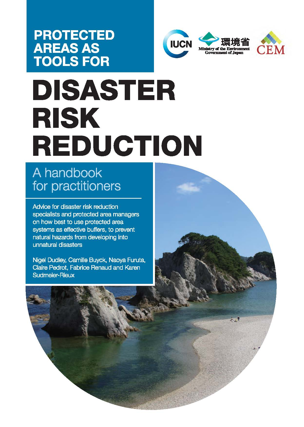 Capa da Protected areas as tools for disaster risk reduction. A handbook for practitioners.