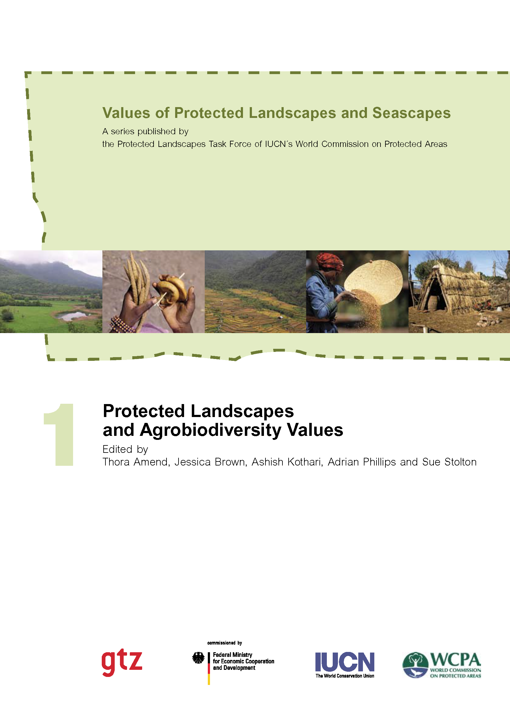 Capa da Protected Landscapes and Agrobiodiversity Values