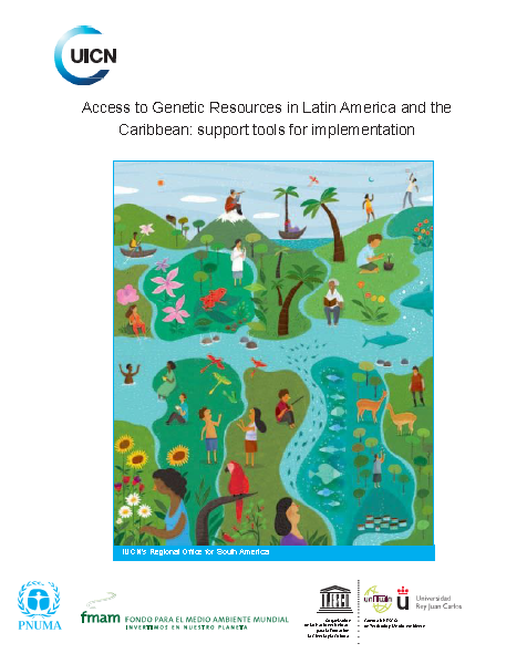 Capa da Access to Genetic Resources in Latin America and the Caribbean: support tools for implementation