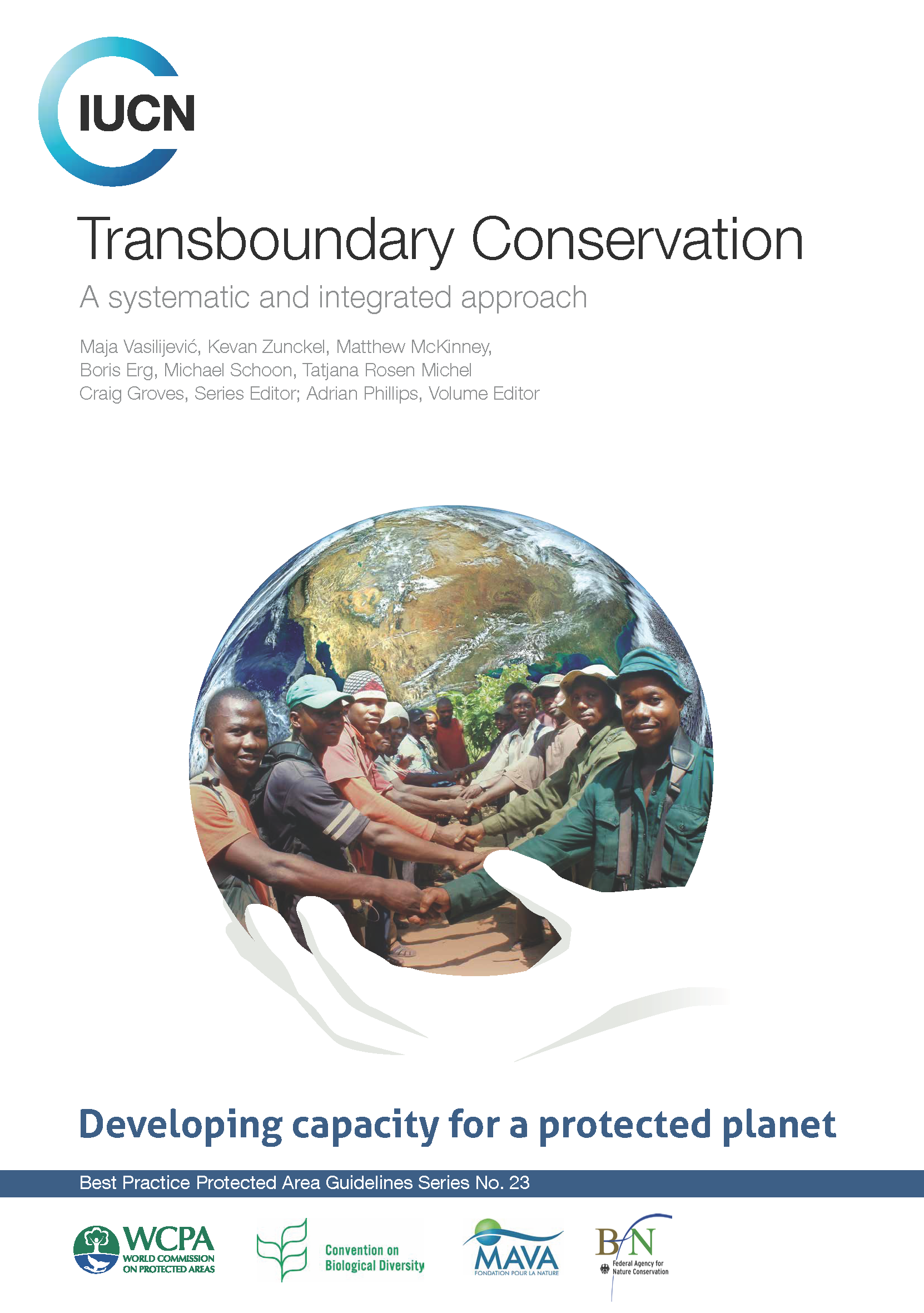Capa da Transboundary Conservation: a systematic and integrated approach