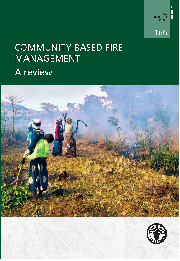 Capa da Community-based fire management - A review