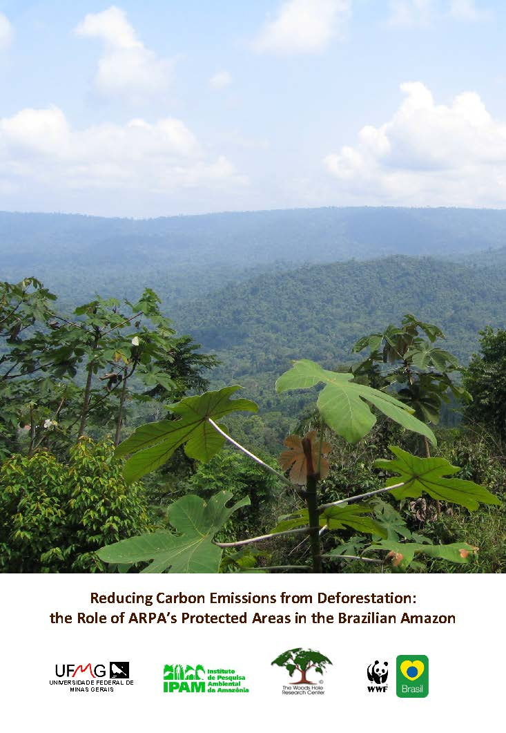 Capa da Reducing carbon emissions from deforestation: the role of ARPA's protected areas in the brazilian Amazon